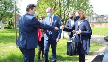 Gradonačelnik Rajn razgovarao o Državnom arhivu u Križevcima s ministricom kulture