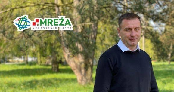 Kandidat Mreže za načelnika Općine Gornja Rijeka Ivica Srbljinović predstavio listu za Općinsko vijeće