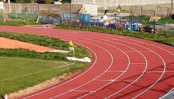 Evo kako izgleda iscrtana križevačka atletska staza