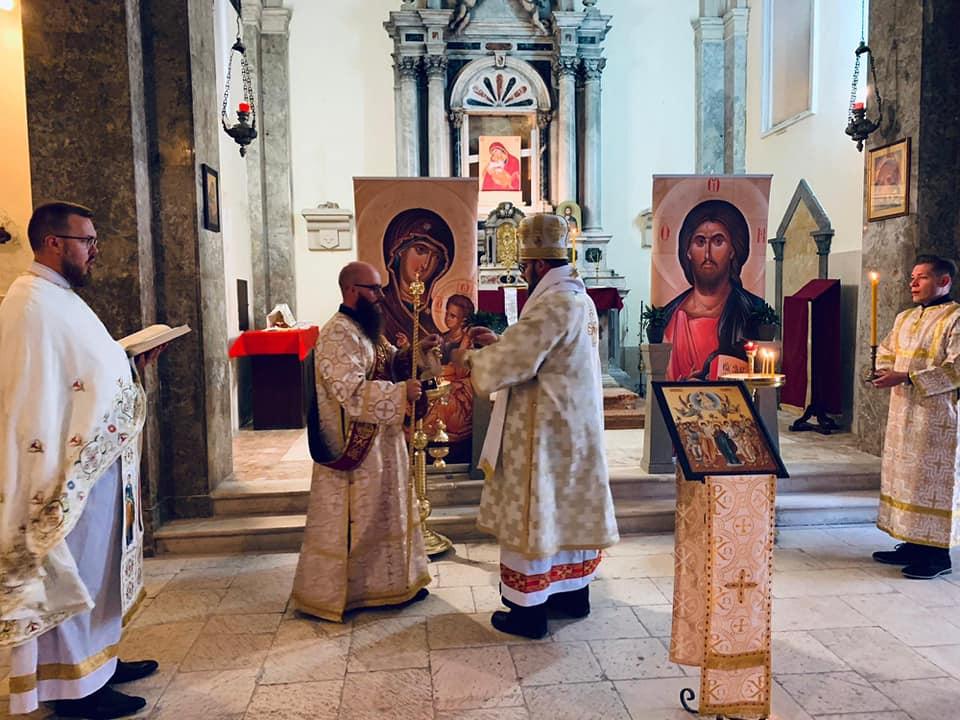 Križevački vladika Milan Stipić predvodio proslavu župne svetkovine grkokatoličke župe Krista Spasitelja u Splitu