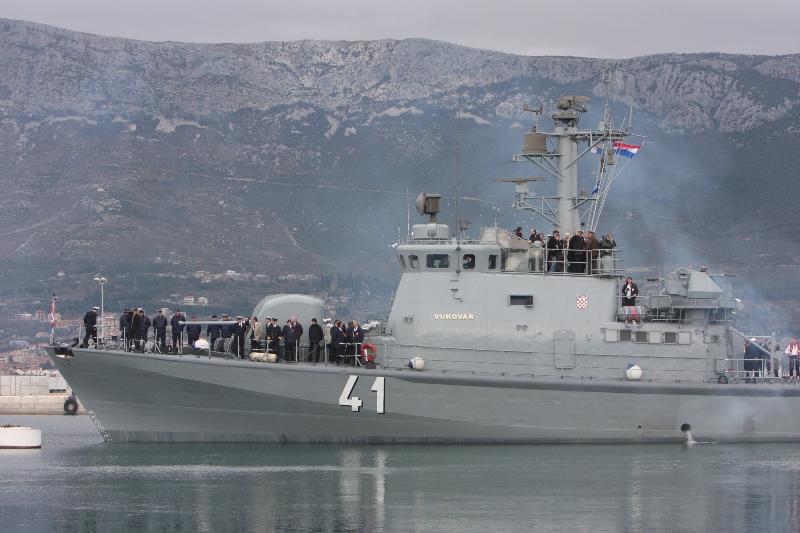 """MORH: Raketna topovnjača """"Dubrovnik"""" u međunarodnoj vježbi """"ADRION 21 LIVEX"""""""