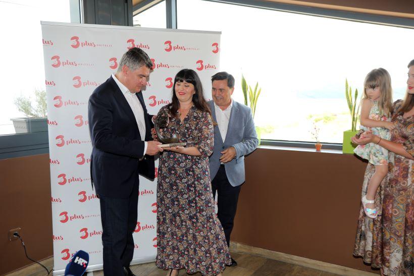 Milanović na Krku prisustvovao uručenju nagrade za Europsku veliku obitelj godine