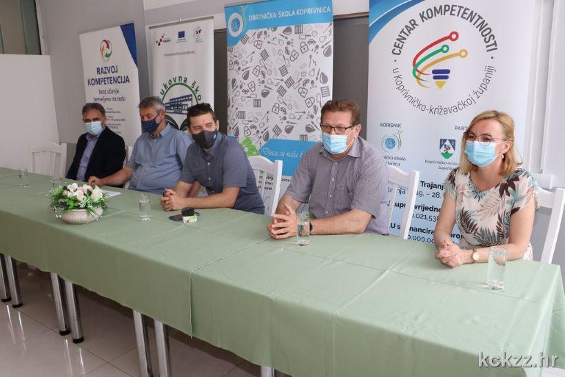 Potpisan Ugovor o javnoj nabavi usluge uspostave Centra kompetentnosti u Koprivničko-križevačkoj županiji te razvoja i primjene mehanizama osiguranja kvalitete