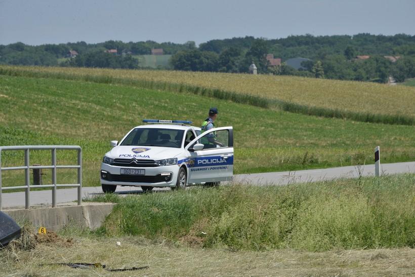 NA CESTI GUŠČEROVEC-KRIŽEVCI Vozačica završila u putnom jarku