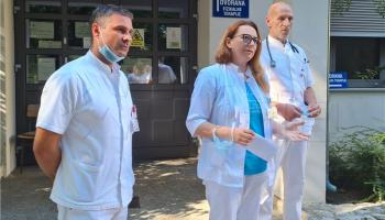 Pročelnica novomarofske bolnice Tatjana Jurkin Vnučec potvrdila da se radilo o požaru u bolesničkoj sobi