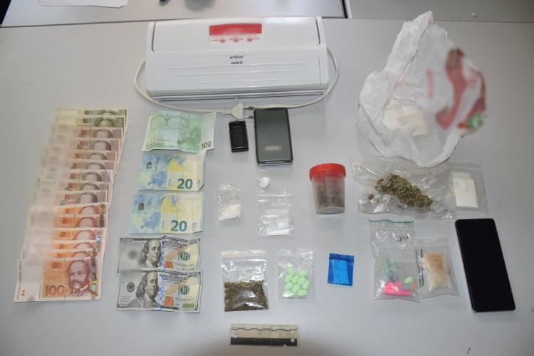 33-godišnjakinja u stanu skrivala amfetamin, MDMA i konoplju