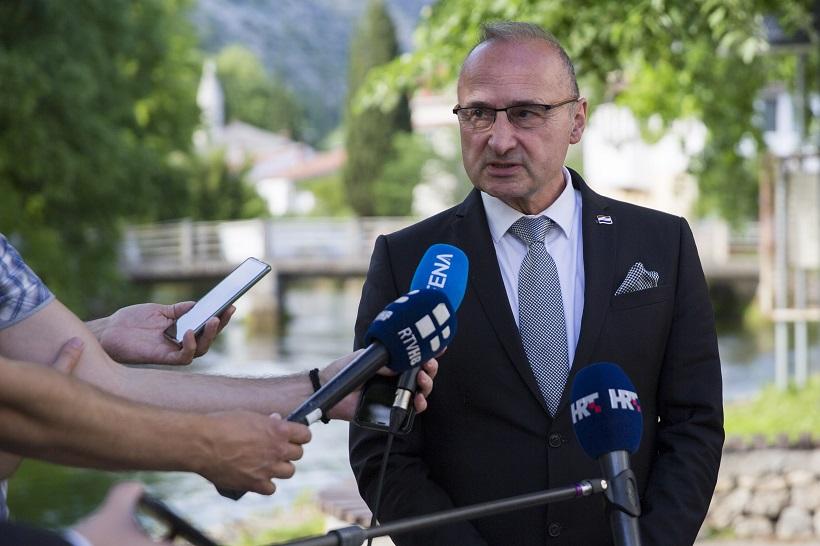 Grlić Radman najavio nastavak potpore vlade kako bi Hrvati opstali u BiH