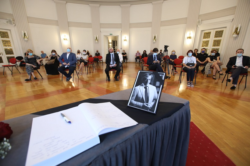 Održana komemoracija za preminulog novinara Silvija Tomaševića