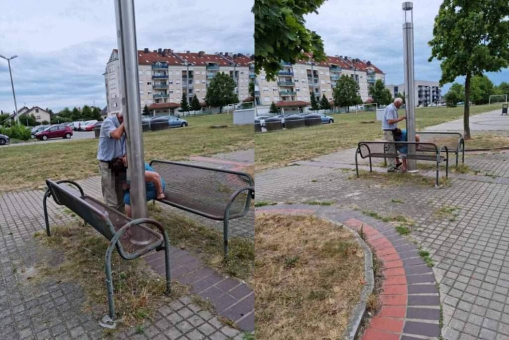 UŽASAN PRIZOR Stariji par u Koprivnici se usred bijela dana odao niskim strastima