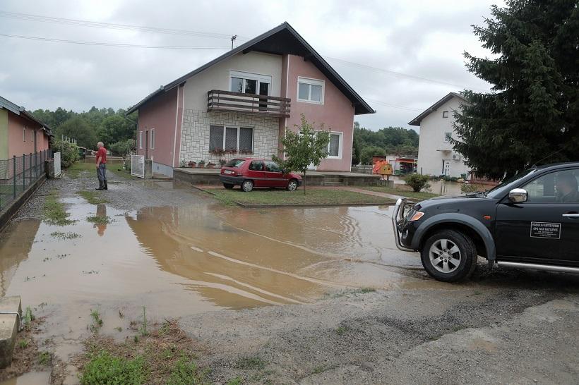 Stanje na našičkom području trenutačno dobro, voda se povlači