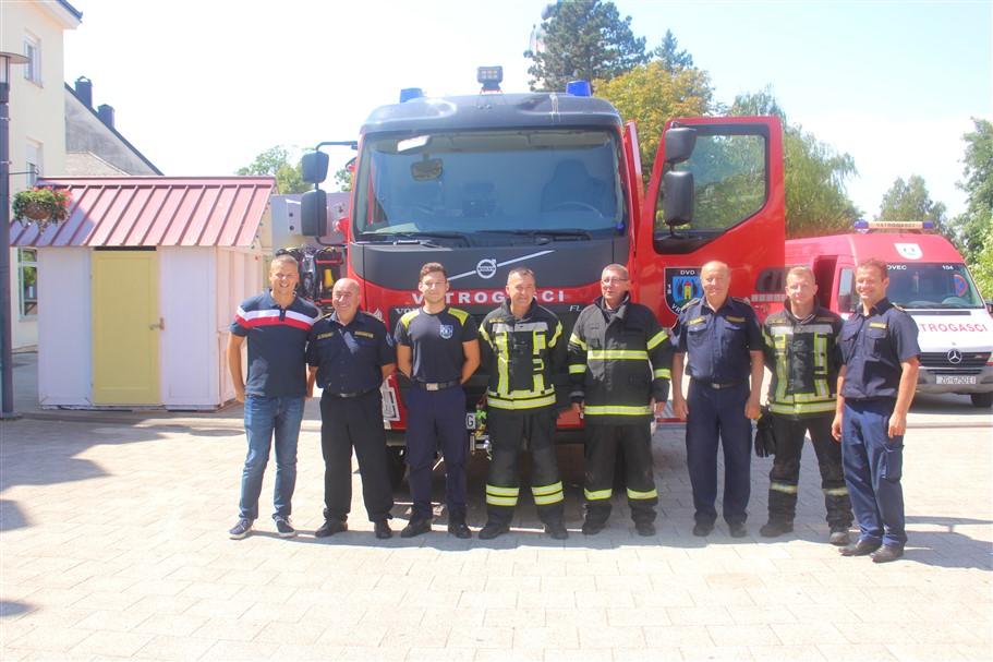 🖼️ 🎦 U Dobrovoljno vatrogasno društvo Vrbovec stiglo novo vozilo vrijedno preko 2 milijuna kuna