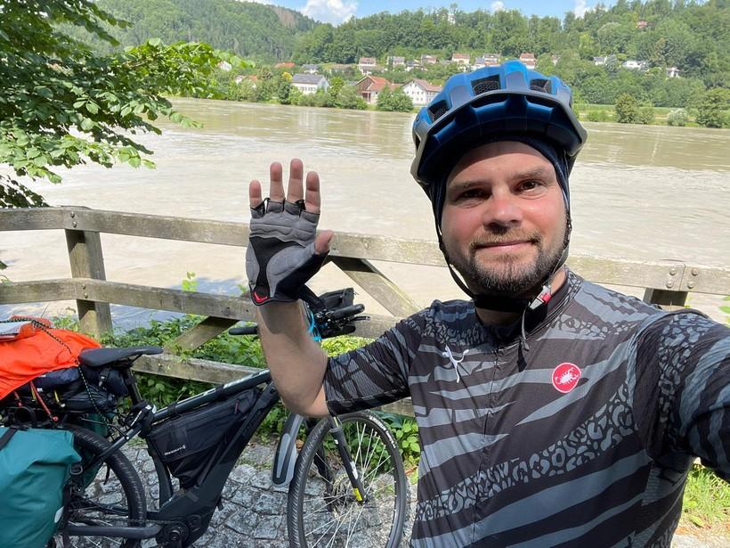 Ivan Rafaj biciklirao iz Njemačke u Čazmu; biciklirao sâm punih deset dana