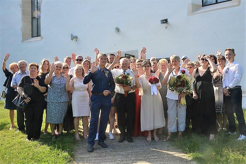 ZLATNI PIR Marija i Franjo proslavili pedeset godina braka!