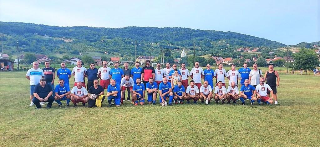 NOGOMET-VETERANI Gornja Rijeka pobijedila Tomislav