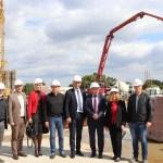 Župan Koren sa suradnicima obišao radove na izgradnji školsko-sportske dvorane u Rasinji