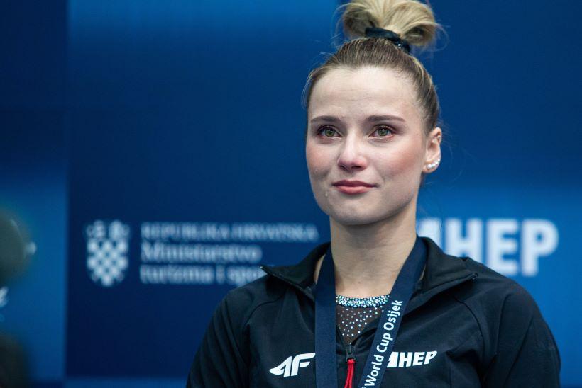 Gimnastika: Ana Đerek osvojila dva srebra na Svjetskom kupu u Kopru