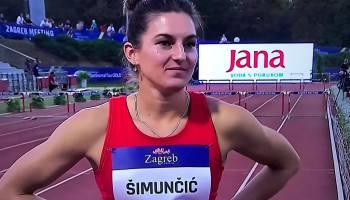 ATLETIKA – KUP HRVATSKE U ZAGREBU Ida Šimunčić druga na 400 prepone, Veronika Drljačić nije nastupila zbog ozljede