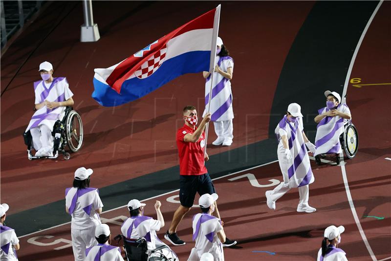 POI – Zatvorene Paraolimpijske igre u Tokiju, Mikulić nosio zastavu