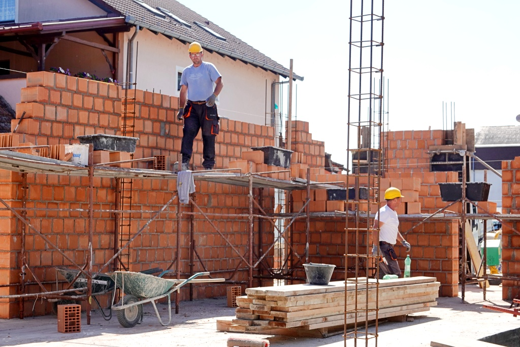 radovi zidarija građevina