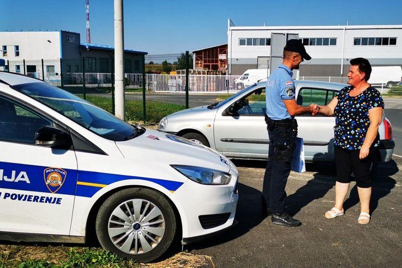 Policija nagradila savjesne vozače