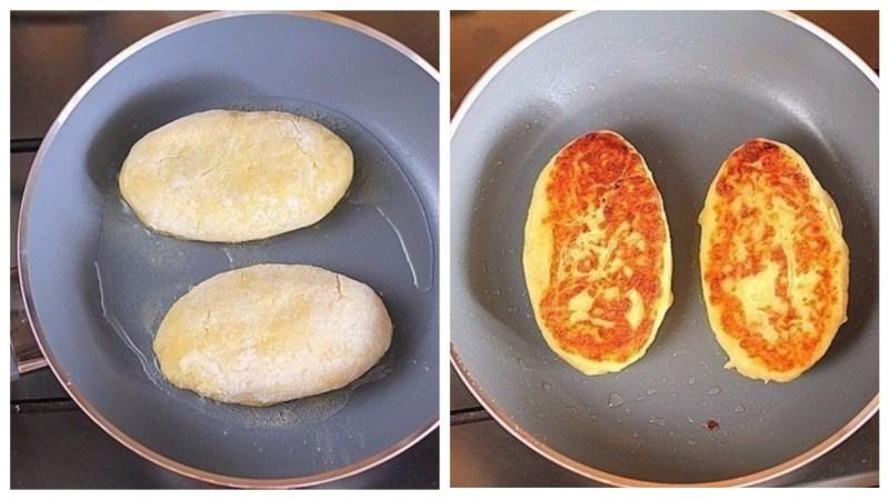 Картофельные зразы с грибами «Домашние»