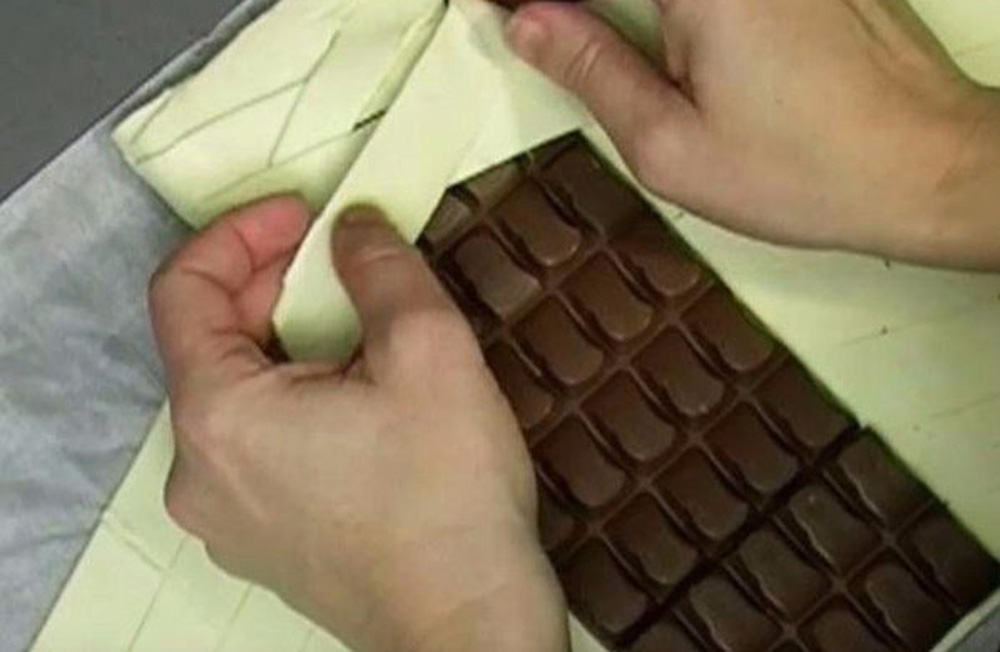 Шоколадка в тесте