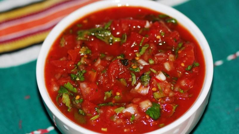 Мексиканский острый овощной соус «Сальса»