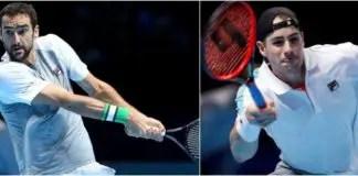tennis isner vs cilic
