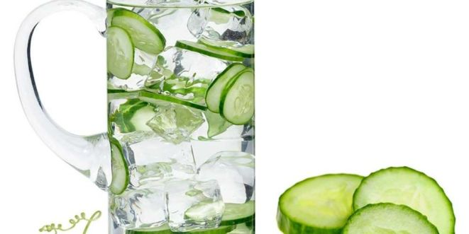 landscape 1433811414 jug of cucumber water - CUCUMBER GREEN FRESH (click image to view)