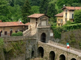 Porta San Lorenzo Bergamo detta Porta Garibaldi
