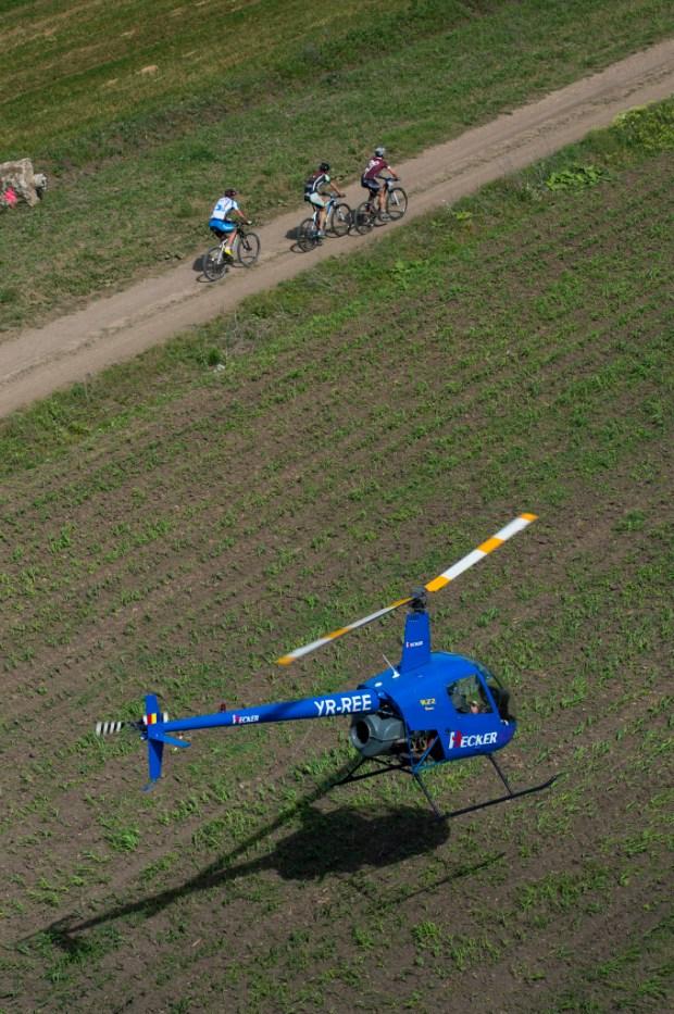Concurenti la Prima Evadare fotogarafie din elicopter