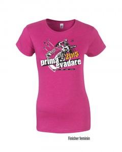 Tricou Prima Evadare - finisher - feminin
