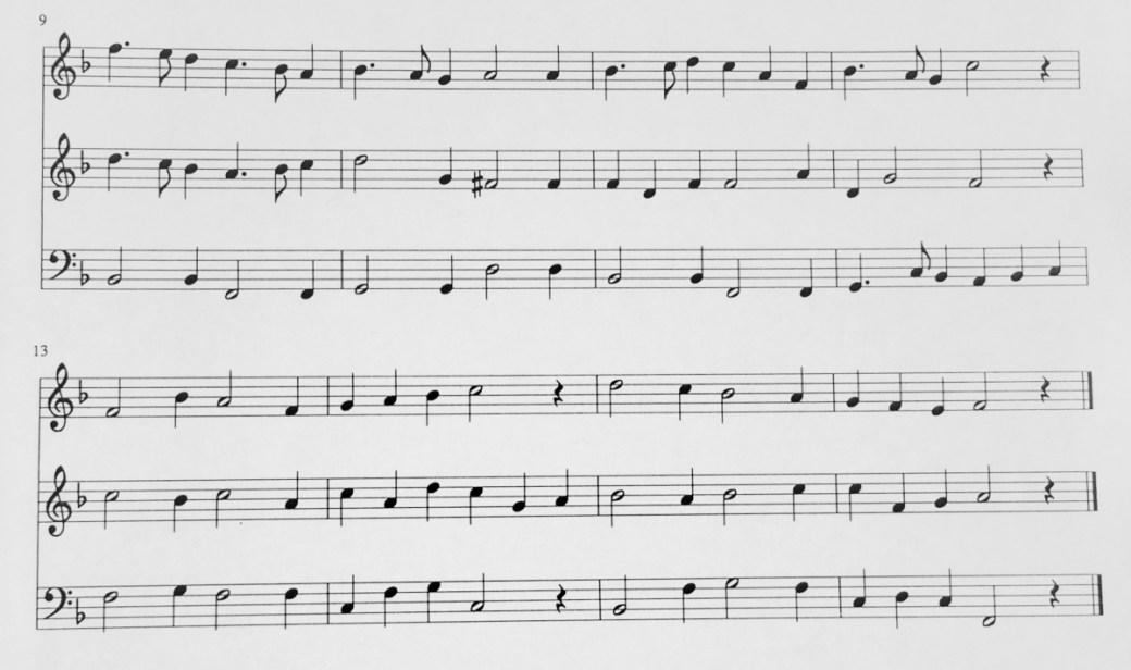 (1) Musik Beispiel