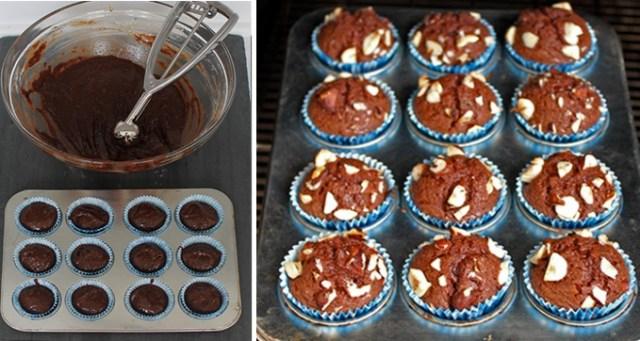 Výborné Nutellové muffiny, které si připravíte pouze z těchto 3 ingrediencí