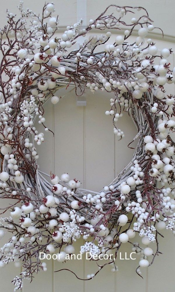 Podzimní dekorace z větviček Zdroj: Pinterest