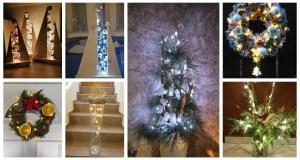 Inspirace na dekorace se světýlkami