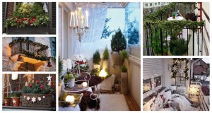 Inspirace jak vyzdobit balkon a parapety. Zdroj: Pinterest