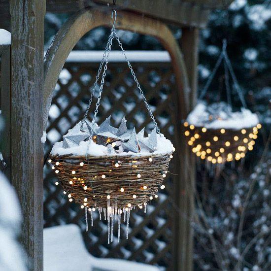 Inspirace na vánoční osvětlení