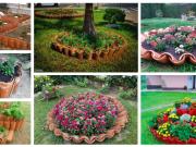 Využijte staré střešní tašky i na své zahradě - 25+ krásných inspirací