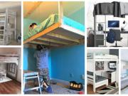 Inspirace na závěsné postele, které nezabírají žádný prostor: 25+ geniálních nápadů