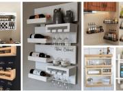 Inspirace na kuchyňské poličky