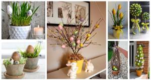 Květináče k výrobě překrásných dekorací na jarní měsíce