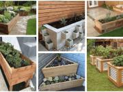 Tipy na vyvýšené záhony z cihel a dřeva