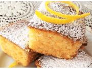 Recept na citrónové řezy se zázvorem