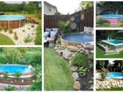 Upravte si prostor kolem zahradního bazénu: 25+ inspirací na zahradu