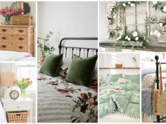 Vytvořte si jarní atmosféru: krásné jarní dekorace do ložnice