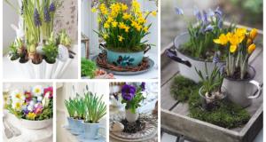 Proměňte staré nádobí v překrásné dekorace na jarní období