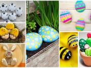 Zabavná kreativní aktivita pro děti: Malované kameny inspirované jarem!