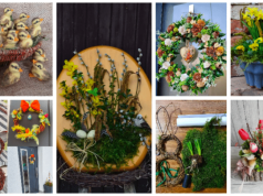 Inspirace na jarní dekorace: 30+ úžasných výtvorů z Vašich domácností