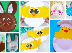 Tvoření pro děti z papírových talířů: 30+ inspirací na jarní měsíce